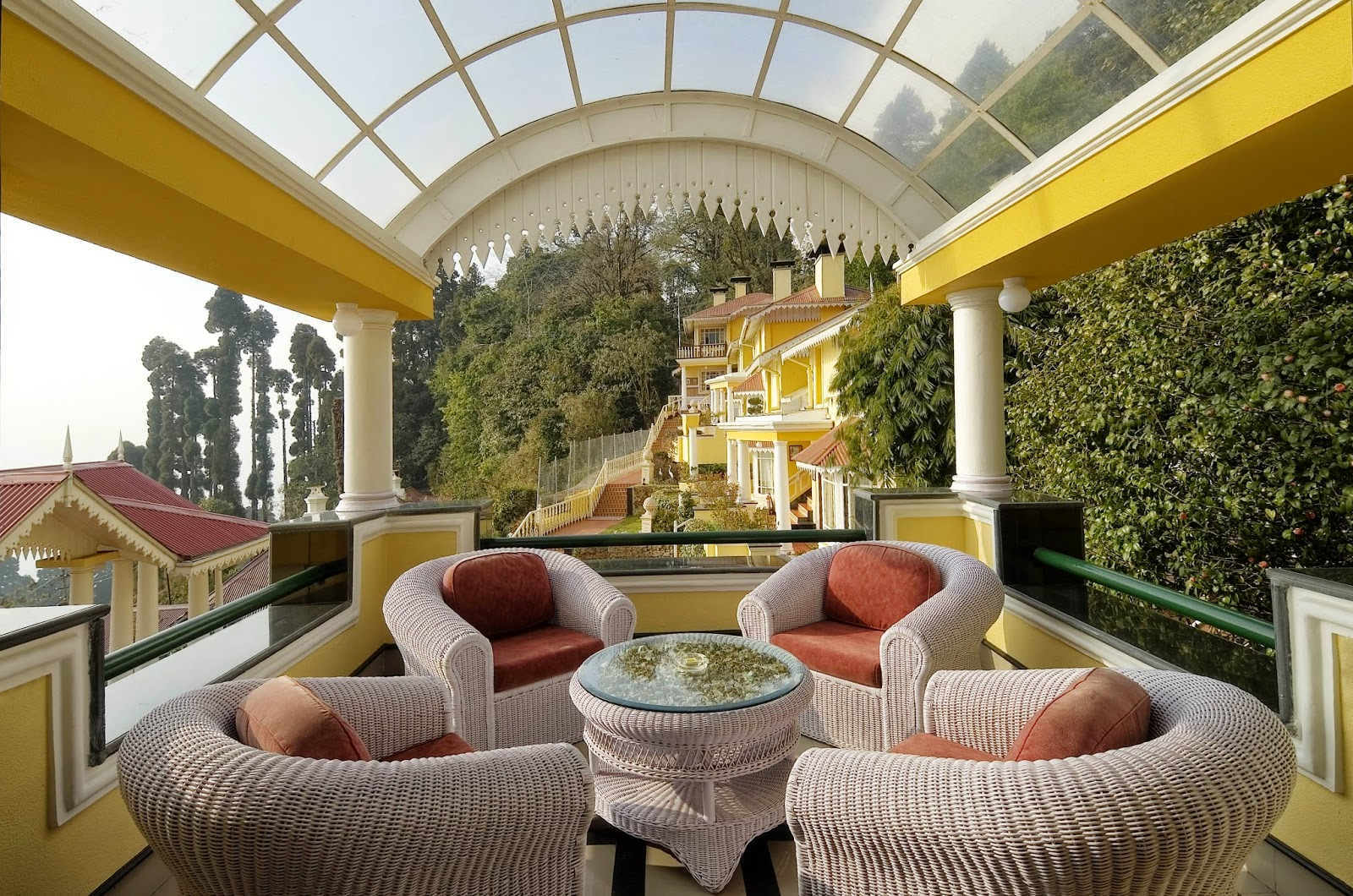 MAYFAIR Darjeeling_Balcony