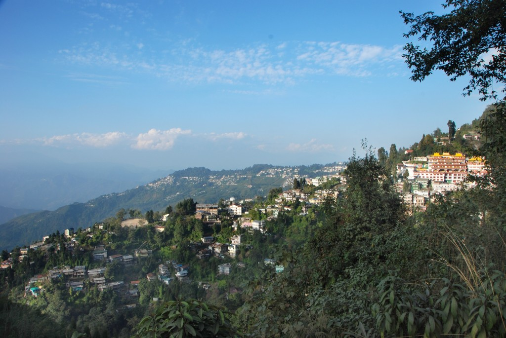Darjeeling Areal View