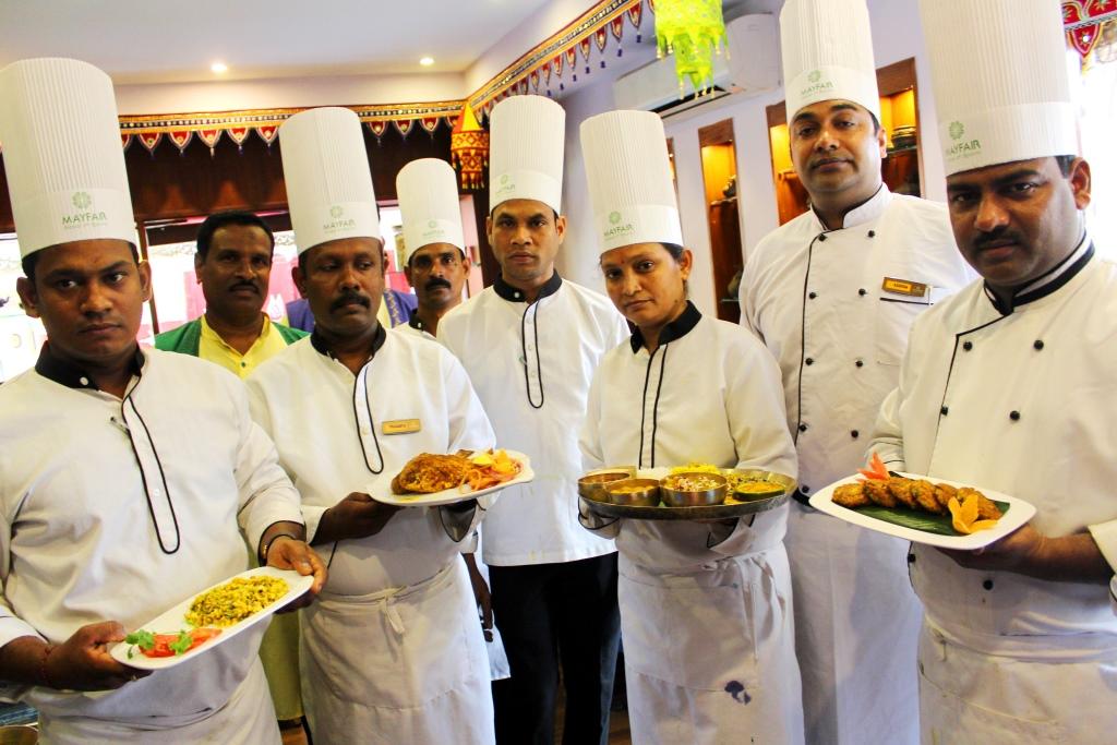 Chefs at Kanika