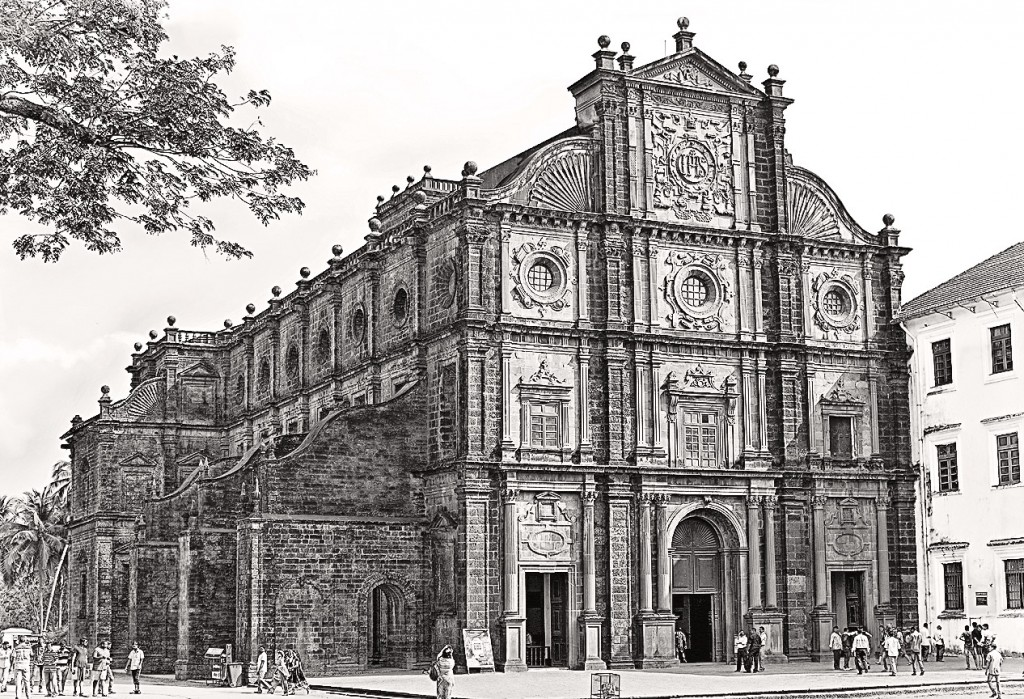 The church of Bom Jesus Basilica