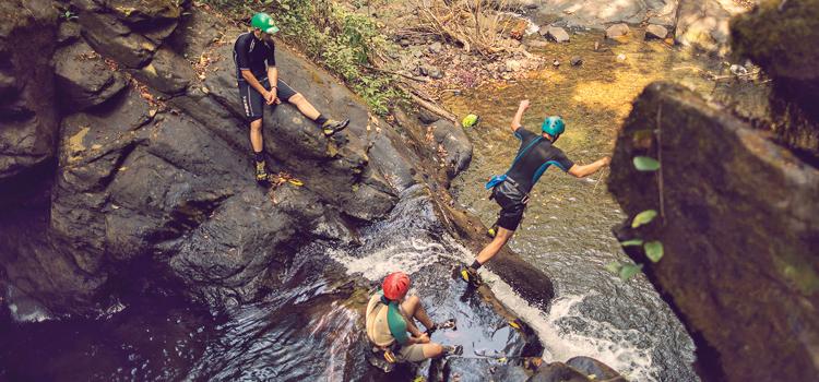 Canyoning in Netravali wildlife sanctuary
