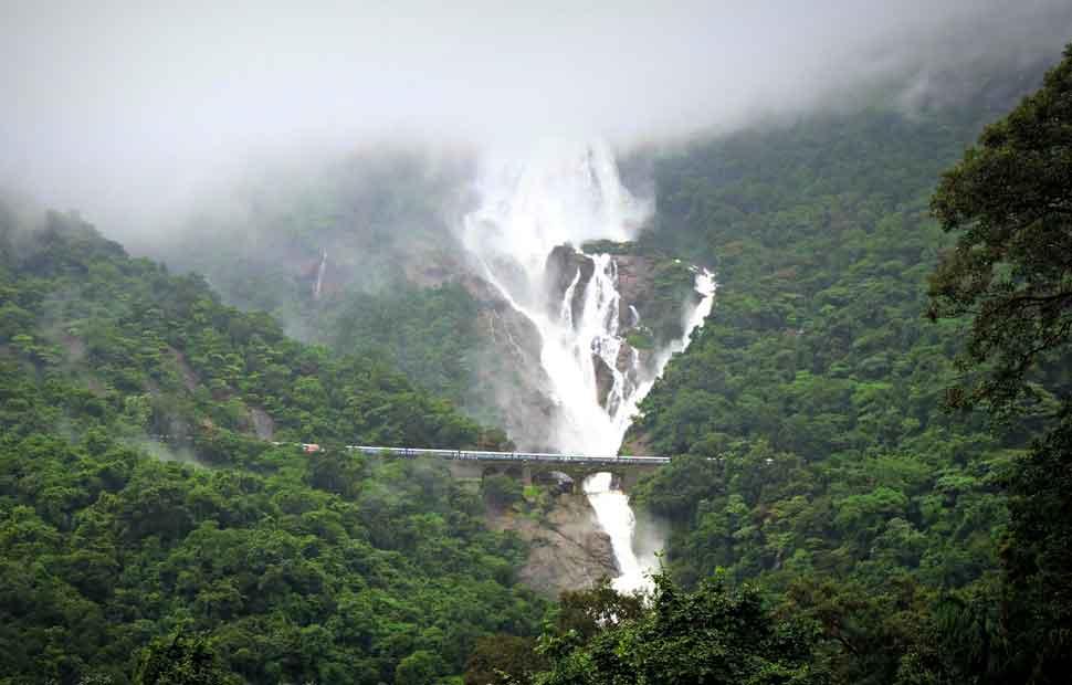 Dudhsagar-Waterfall