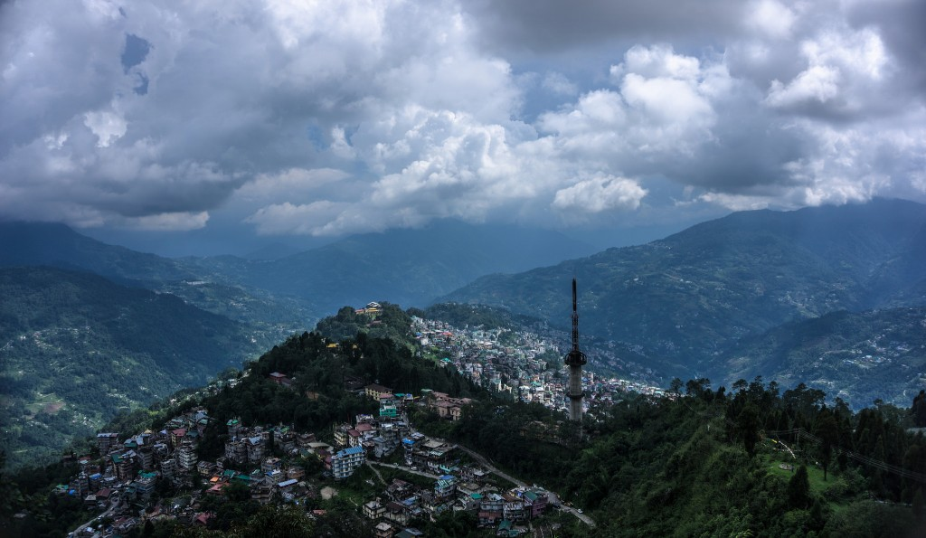 Gangtok-Aerial-View