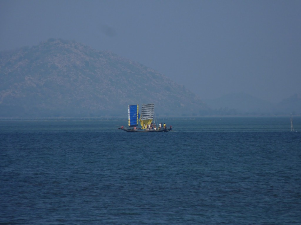 Chilika Lake in Monsoon
