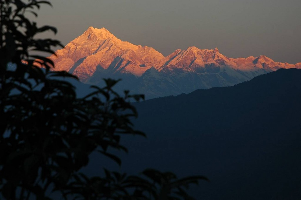 Mount Kanchenjunga View from Tashi View Point