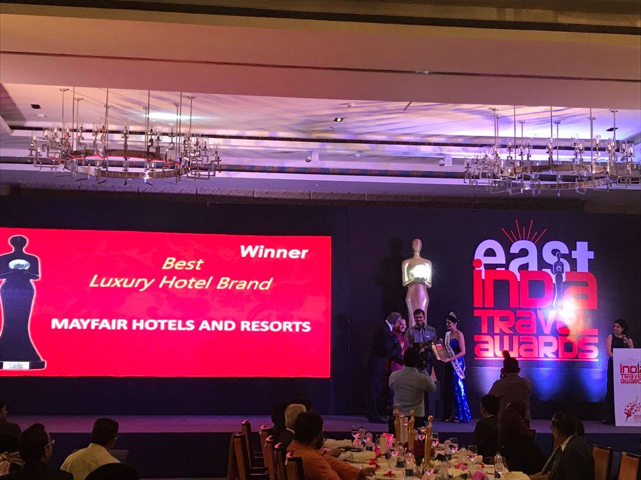 East India Travel Awards,  MAYFAIR Hotels & Resorts