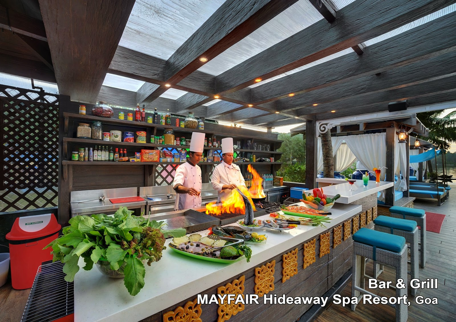 Mayfair Hideaway Spa Resort Bar & Grill