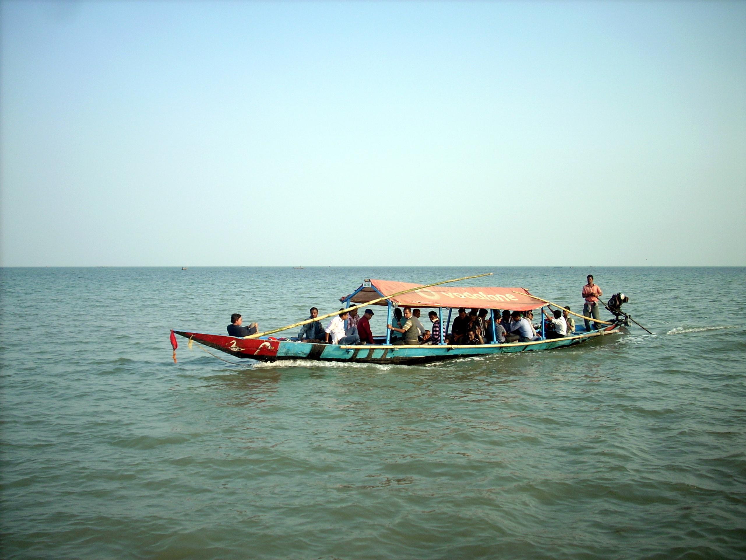 Boating-in-Chilika-Lake