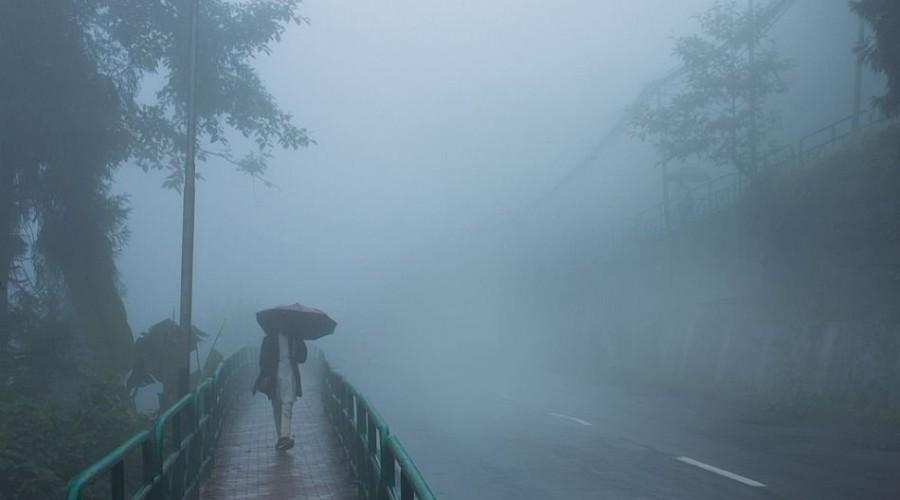 Monsoon in Gangtok